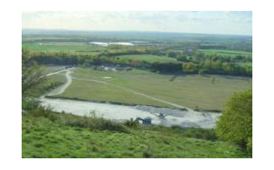 View of Quarry 2 from Pitstone Hill
