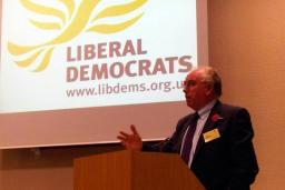 Llew Monger sums up at Autumn Regional Conference