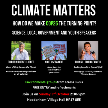 Climate Matters poster